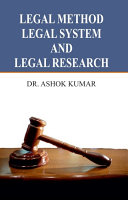Legal Method  Legal System and Legal Research
