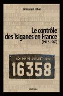 Pdf Le contrôle des Tsiganes en France (1912-1969) Telecharger