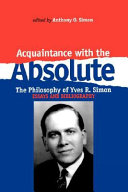 Acquaintance with the Absolute