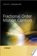 Fractional Order Motion Controls Book