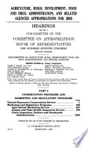 107 2 Hearings Agriculture Rural Development Food And Drug Administration And Related Agencies Appropriations For 2003 Part 2 February 27 2002