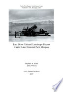 Rim Drive Cultural Landscape Report