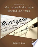 Introduction to Mortgages and Mortgage Backed Securities Book