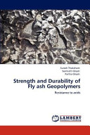 Strength and Durability of Fly Ash Geopolymers Book