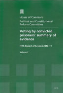 Pdf Voting by convicted prisoners