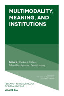 Multimodality, Meaning, and Institutions Pdf/ePub eBook