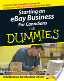 """Starting an eBay Business For Canadians For Dummies"" by Marsha Collier, Bill Summers"