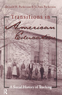 Transitions in American Education
