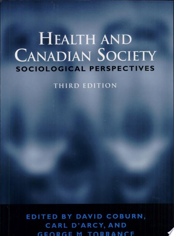 Health and Canadian Society