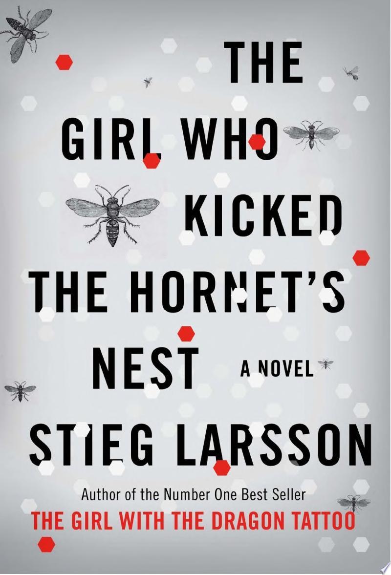 The Girl Who Kicked the Hornet's Nest banner backdrop