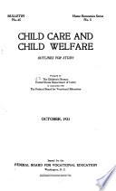 Child Care and Child Welfare Book