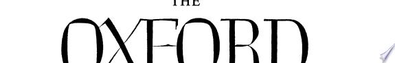 The Oxford university press