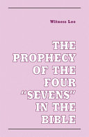 The Prophecy of the Four  Sevens  in the Bible