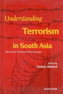 Understanding Terrorism in South Asia Book