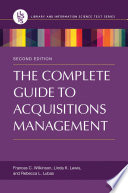 The Complete Guide to Acquisitions Management, 2nd Edition