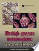 Ultrahigh-pressure Metamorphism