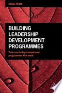 Building Leadership Development Programmes