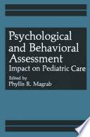 Psychological And Behavioral Assessment