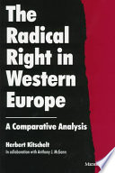 """The Radical Right in Western Europe: A Comparative Analysis"" by Herbert Kitschelt, Anthony J. McGann"