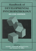 Handbook of Developmental Psychopathology
