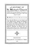 A History of St  Michael s Church  Trenton