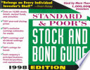 Standard and Poor's Stock and Bond Guide