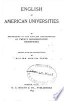 English in American universities