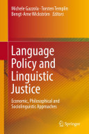 Pdf Language Policy and Linguistic Justice Telecharger