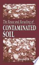 The Reuse and Recycling of Contaminated Soil