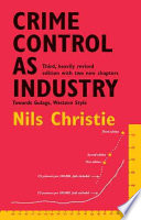 Cover of Crime Control as Industry
