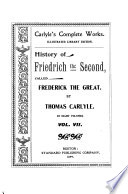 History of Fredrich the Second, called Frederick the Great