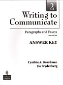 Writing to Communicate 2