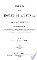 Crimes of the House of Austria Against Mankind