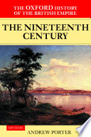 The Oxford History of the British Empire: The nineteenth century