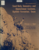 Sand body Geometry and Depositional Systems  Ogallala Formation  Texas