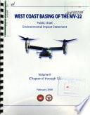 West Coast Basing of the MV 22 Book