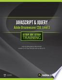 Javascript and JQuery with Adobe Dreamweaver CS6