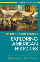 Thinking Through Sources for American Histories