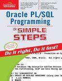 Oracle Pl/Sql Programming In Simple Steps