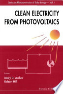 Clean Electricity from Photovoltaics Book