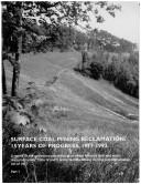 Pdf Surface Coal Mining Reclamation