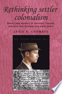 Rethinking Settler Colonialism Book
