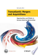 Transatlantic Mergers and Acquisitions Book