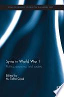Syria in World War I