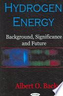 Hydrogen Energy Book PDF