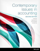 Cover of Contemporary Issues in Accounting 2E Print on Demand (Black and White)