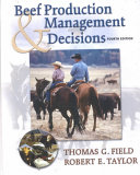 Beef Production and Management Decisions Book