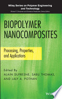 Biopolymer Nanocomposites Book
