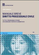 Diritto processuale civile. Manuale breve