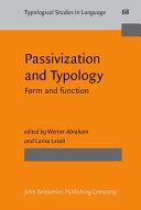 Passivization and Typology